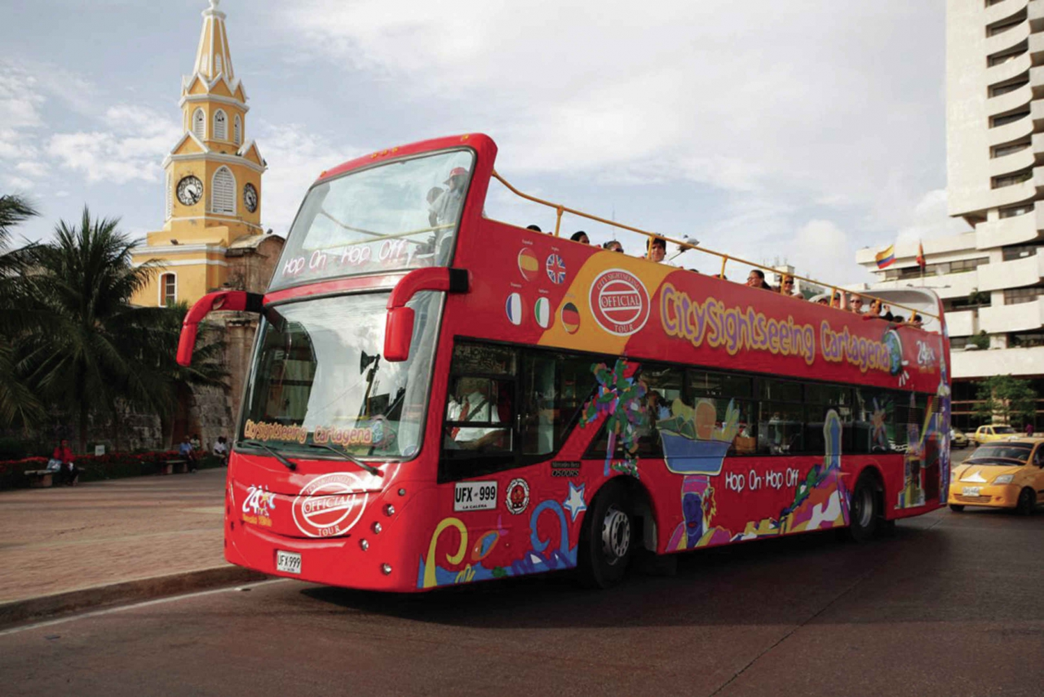 Cartagena Sightseeing Hop-on Hop-off Bus Tour