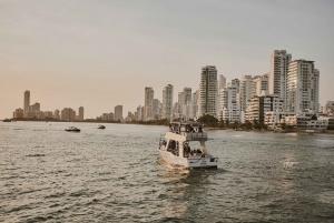 Cartagena: Sunset Cruise with Open Bar