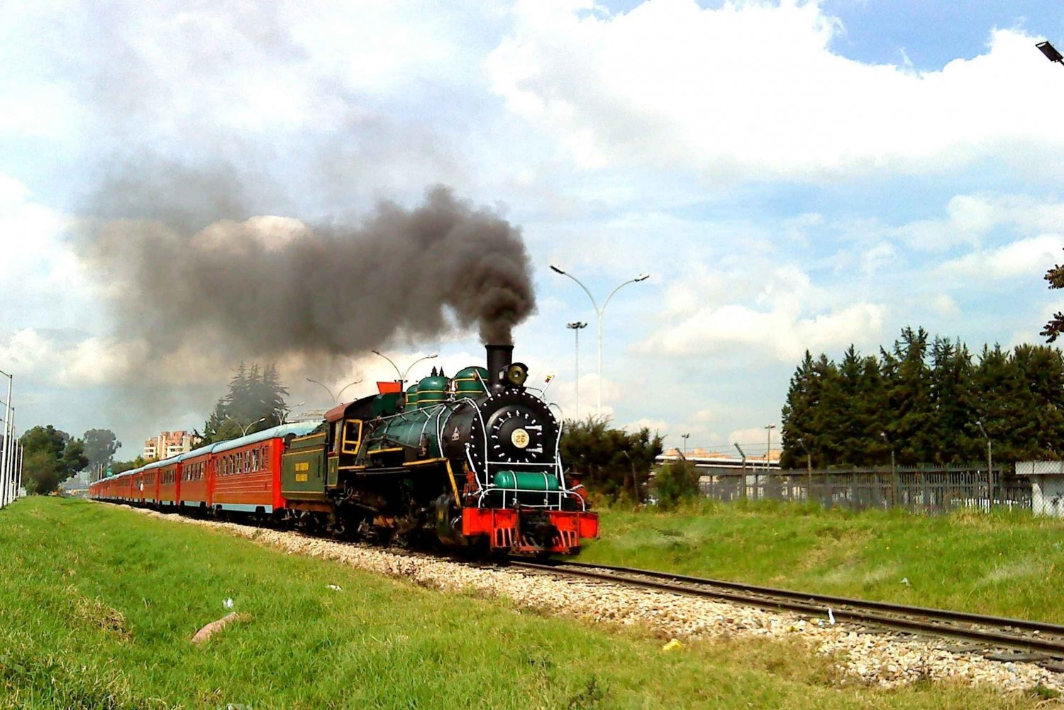 From Bogotá: Classic Steam Train Ride to Zipaquirá