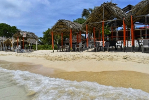 From Cartagena: Day Trip to Playa Blanca with Lunch