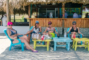 From Cartagena: Island Beach Trip on a Pirate Ship & Lunch