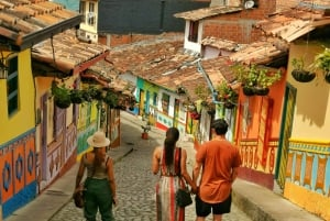 From Medellín: Guatape Rock and Coffee Farm Tour