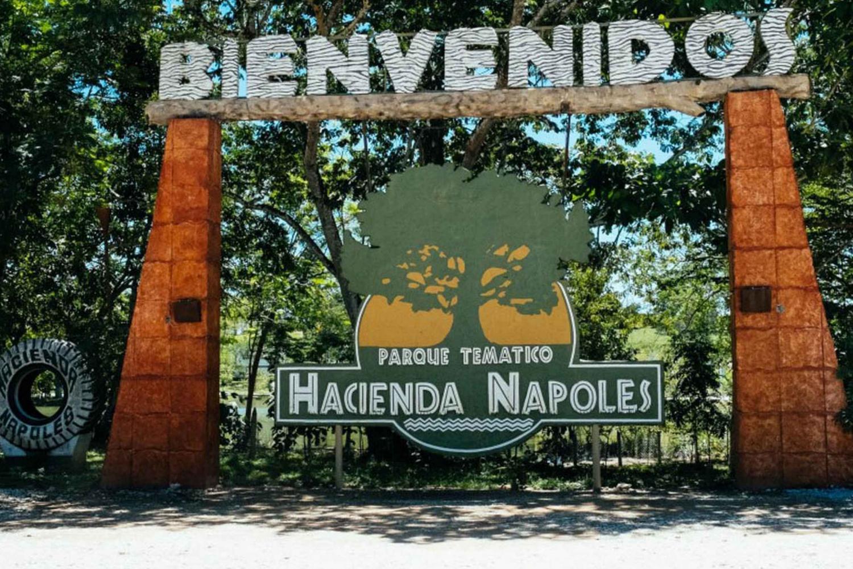 From Medellin: Hacienda Nápoles Theme Park Day Trip