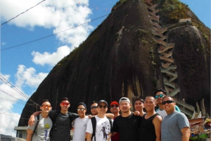 From Medellín: Private Guatapé Tour with El Peñol Ticket
