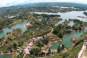 Guatape Coffee Villa including Rock Town & Waterfall