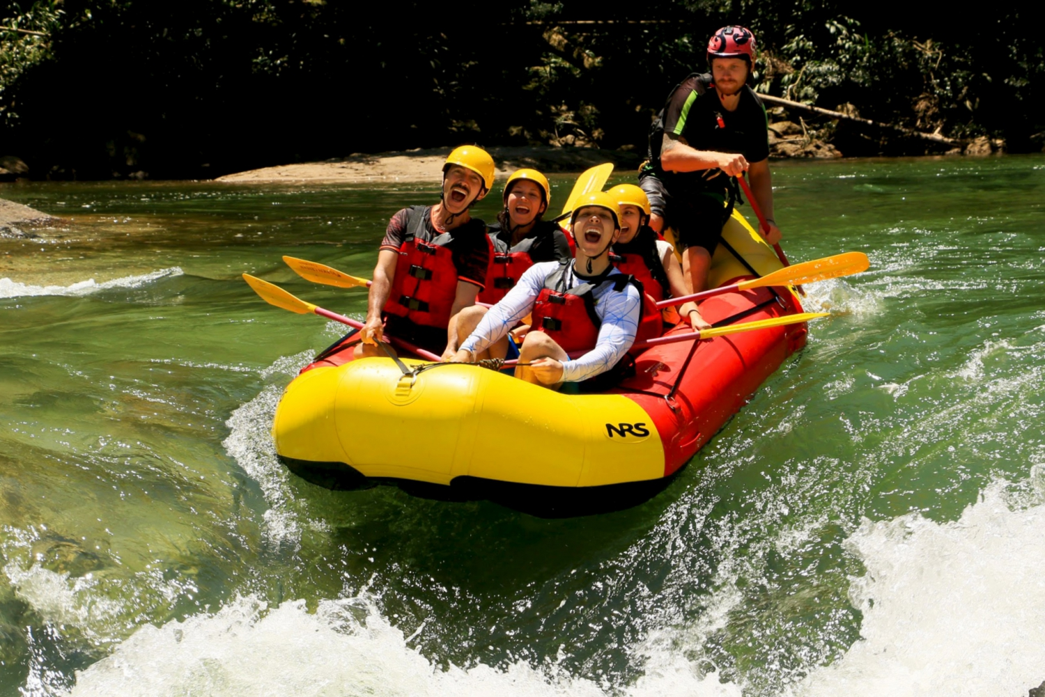 Medellin: Rafting Experience
