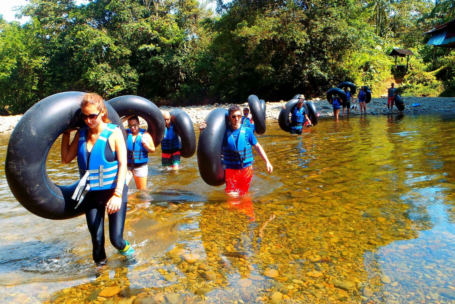 San Cipriano: River Expedition and Tubing Tour