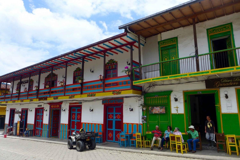 Transport Medellín to Jericó