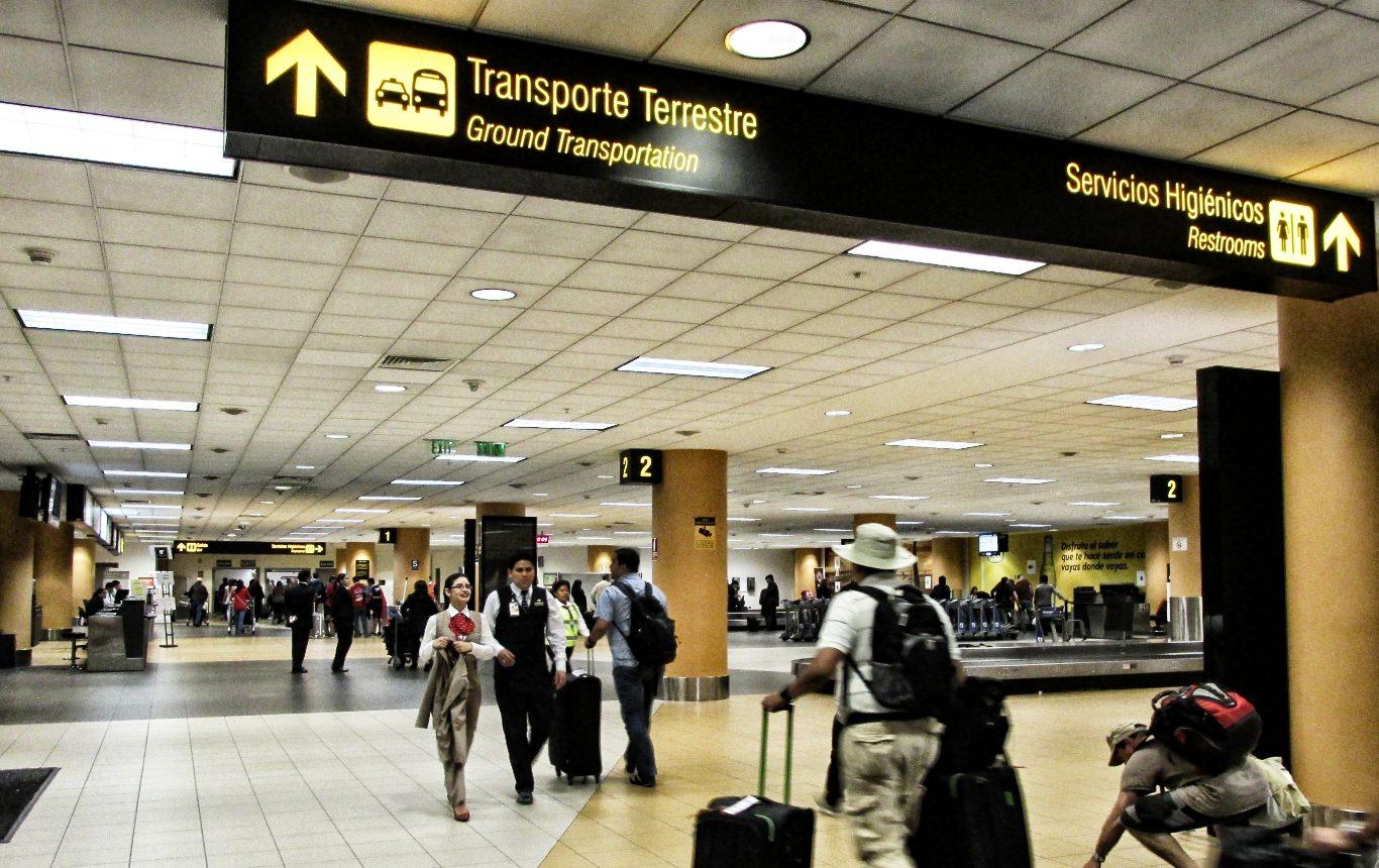 Airport transfer in Peru