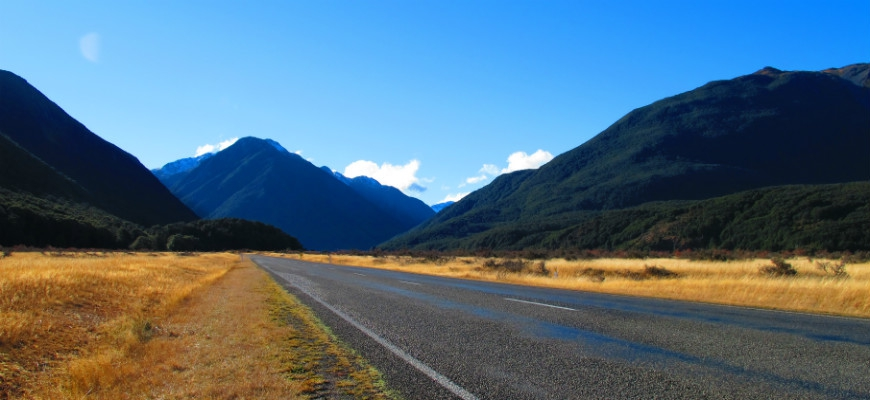 Driving Routes In New Zealand