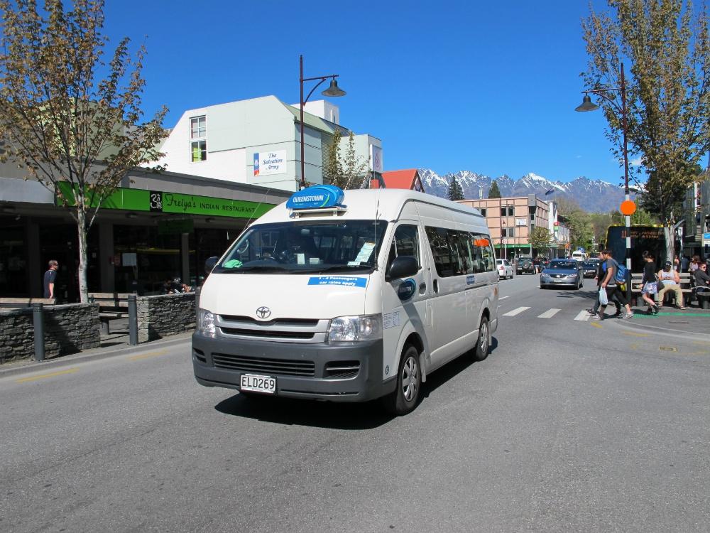 Location minibus queenstown