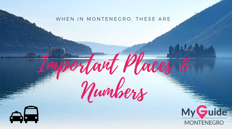 Important Places and Numbers