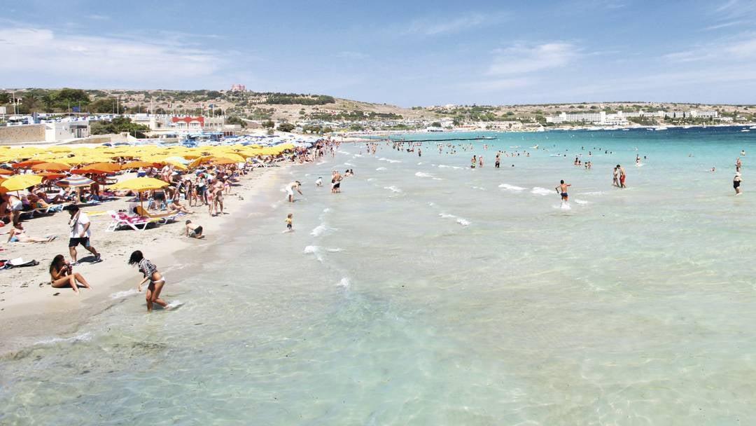 Best Beaches In Malta Island