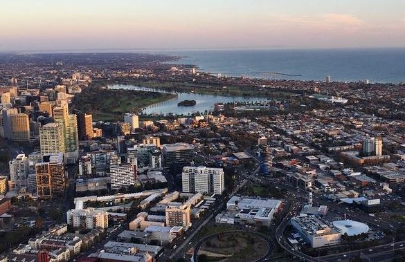 South Melbourne and Albert Park