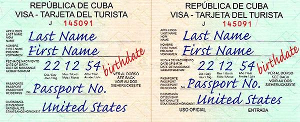 Visa information for your trip