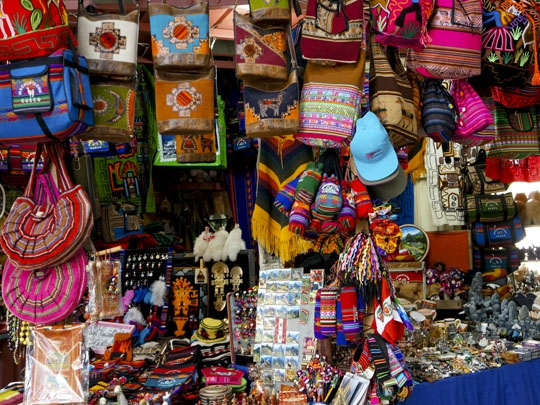 What's good to shop for in Peru?