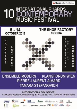 10th International Pharos Contemporary Music Festival