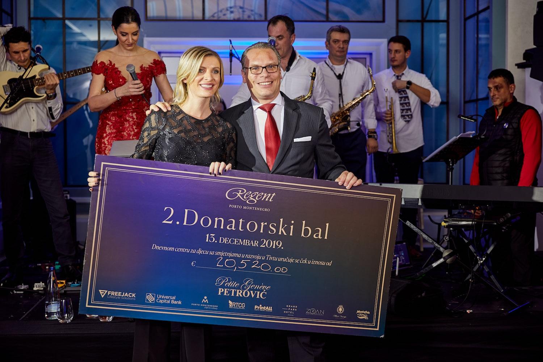 2nd Fundraising Ball at Regent Porto Montenegro