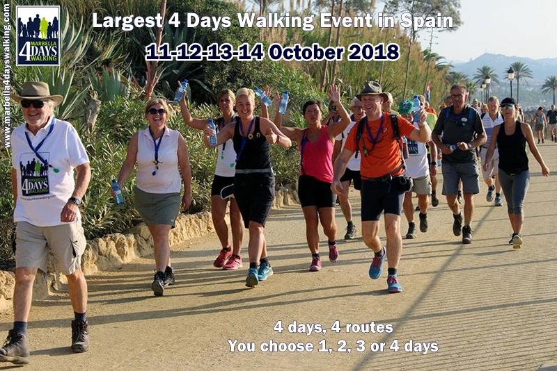 4 Days Walking Marbella