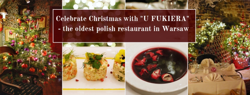 A traditional Polish taste of Christmas - U Fukiera Restaurant