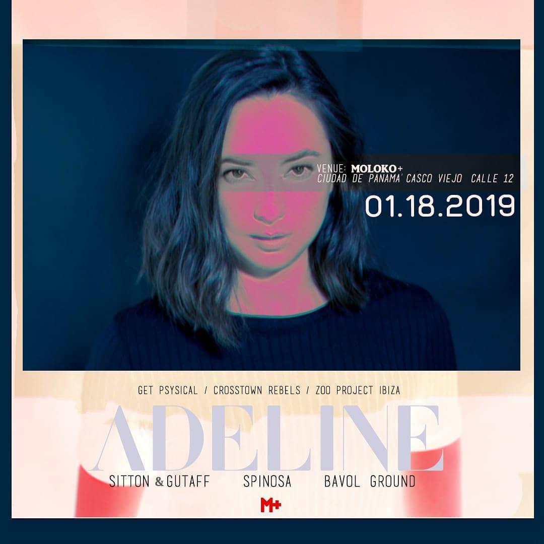 Adeline - Lets Rave in Moloko Plus together