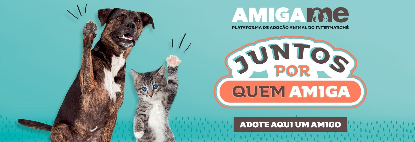 Adopt a pet with Amigame by Intermarché