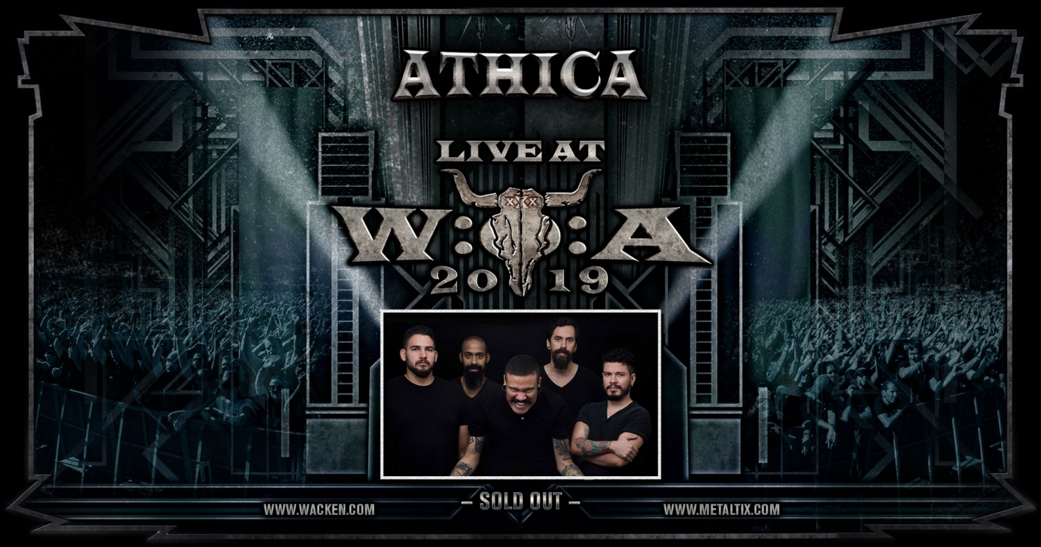 Athica in Wacken Open Air is a reality