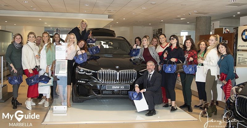 BMW Automotor Puerto Banús presents its new X5 model to Luks Marbella Investors Club ladies