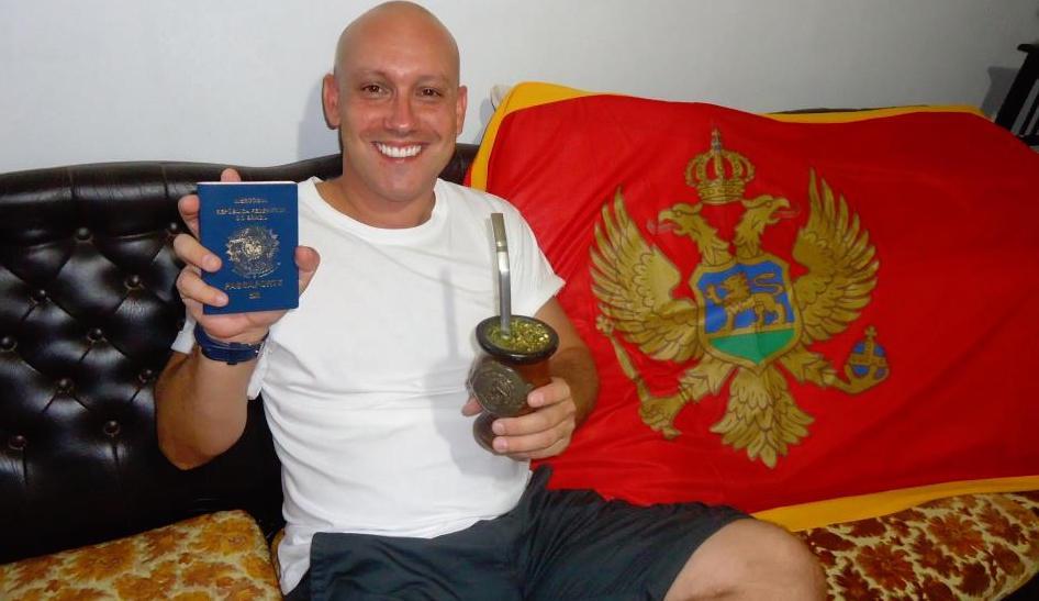 Brazilian passport and Montenegrin soul