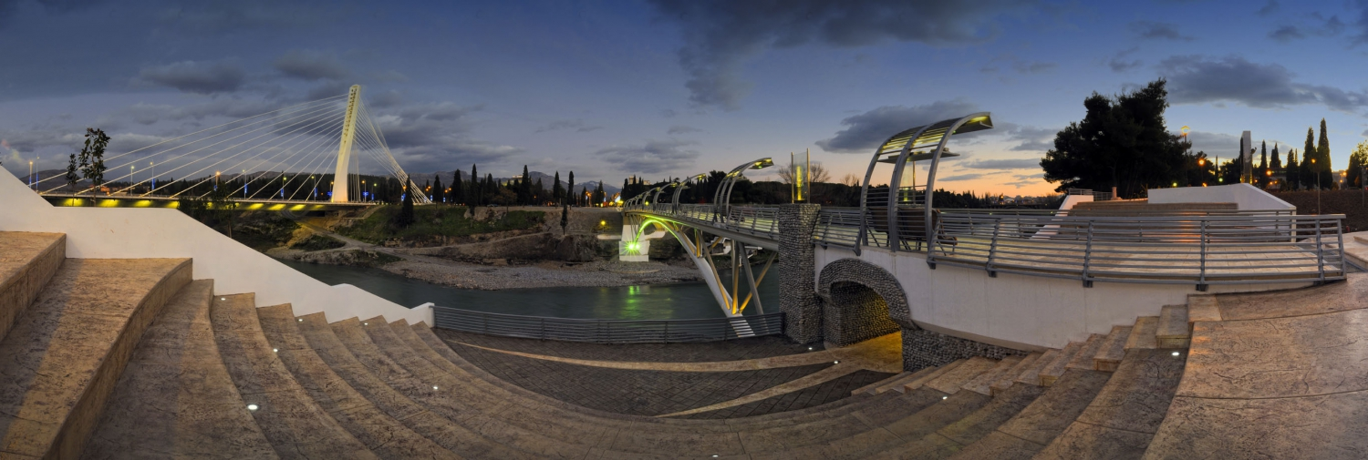 Bridges Over Moraca River in Podgorica