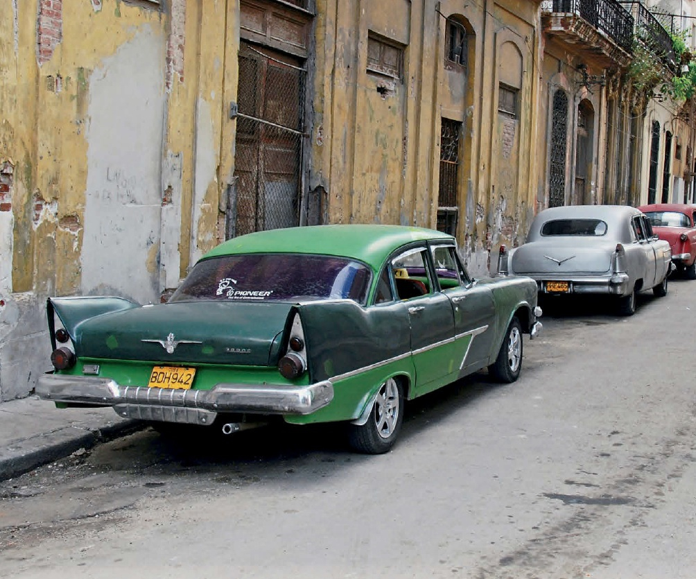 Cars in Cuba, a return to the past