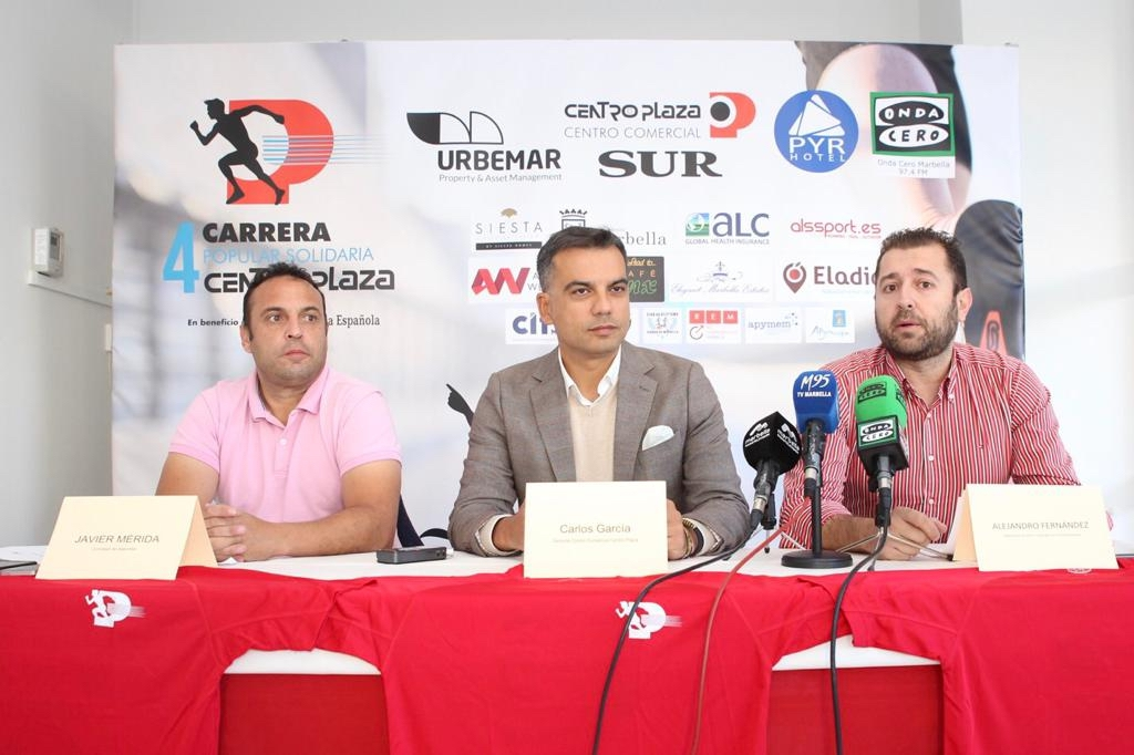 Centro Plaza will host its IV annual charity race in aid of the Marbella Red Cross on the 27th of January
