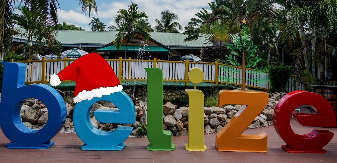 Christmas traditions of Belize.