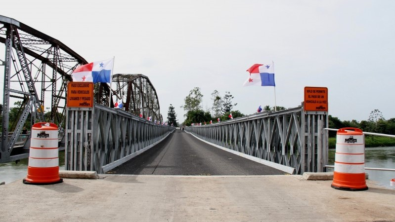 Costa Rica and Panama ready for the construction of the bridge over the Sixaola River