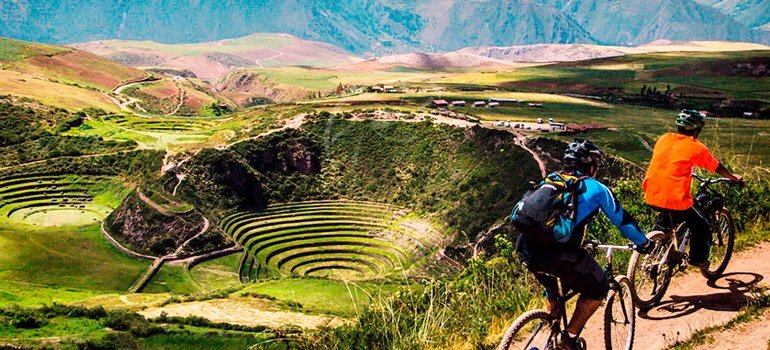 Cusco presents an abrupt relief