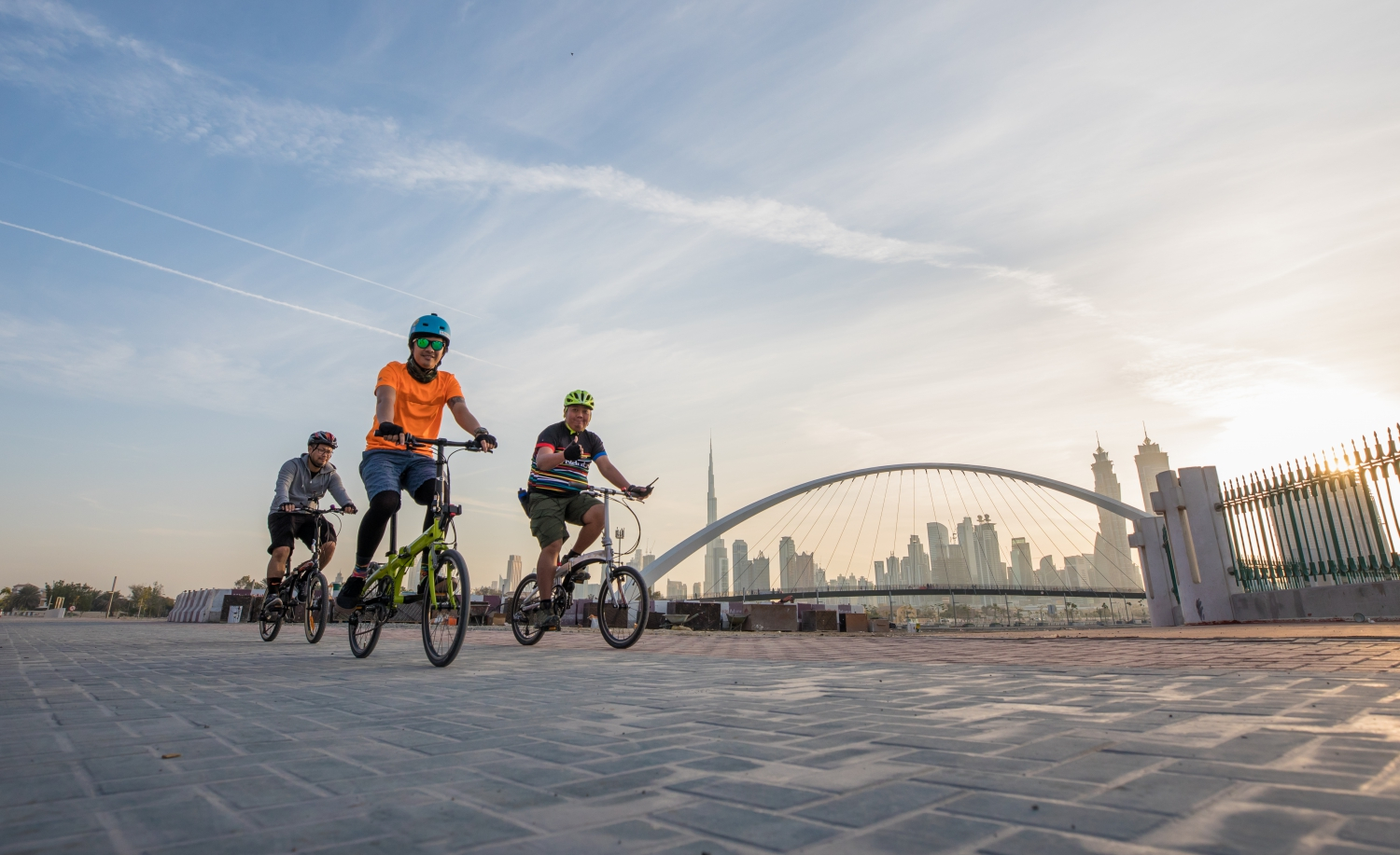 Cycling the Sights of Dubai