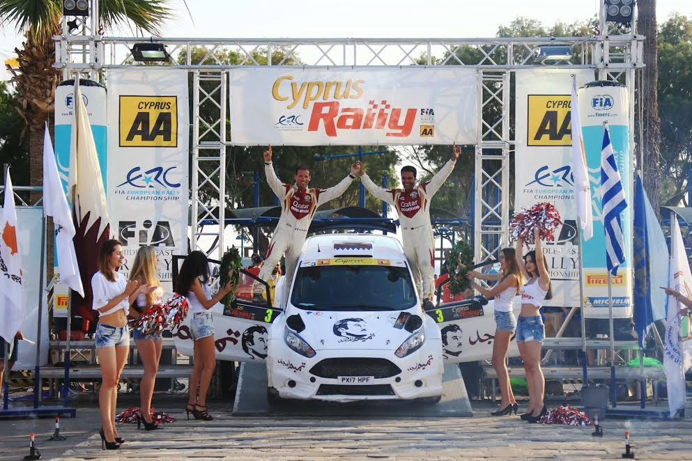 Cyprus Rally 2017 - Winners