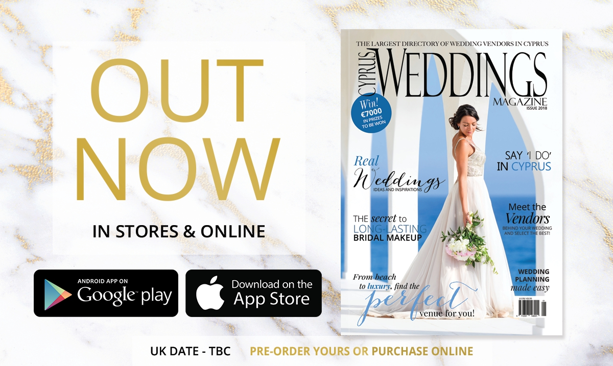 Cyprus Weddings Magazine is now OUT!