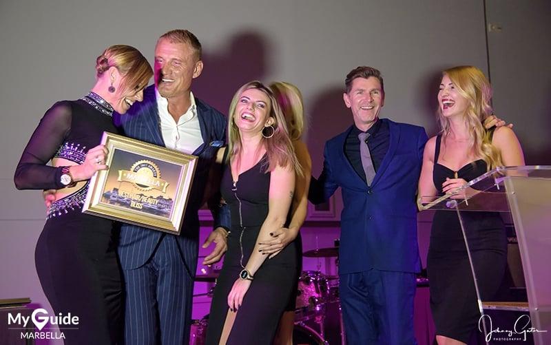 Dolph Lundgren hosts the Marbella Awards 2017