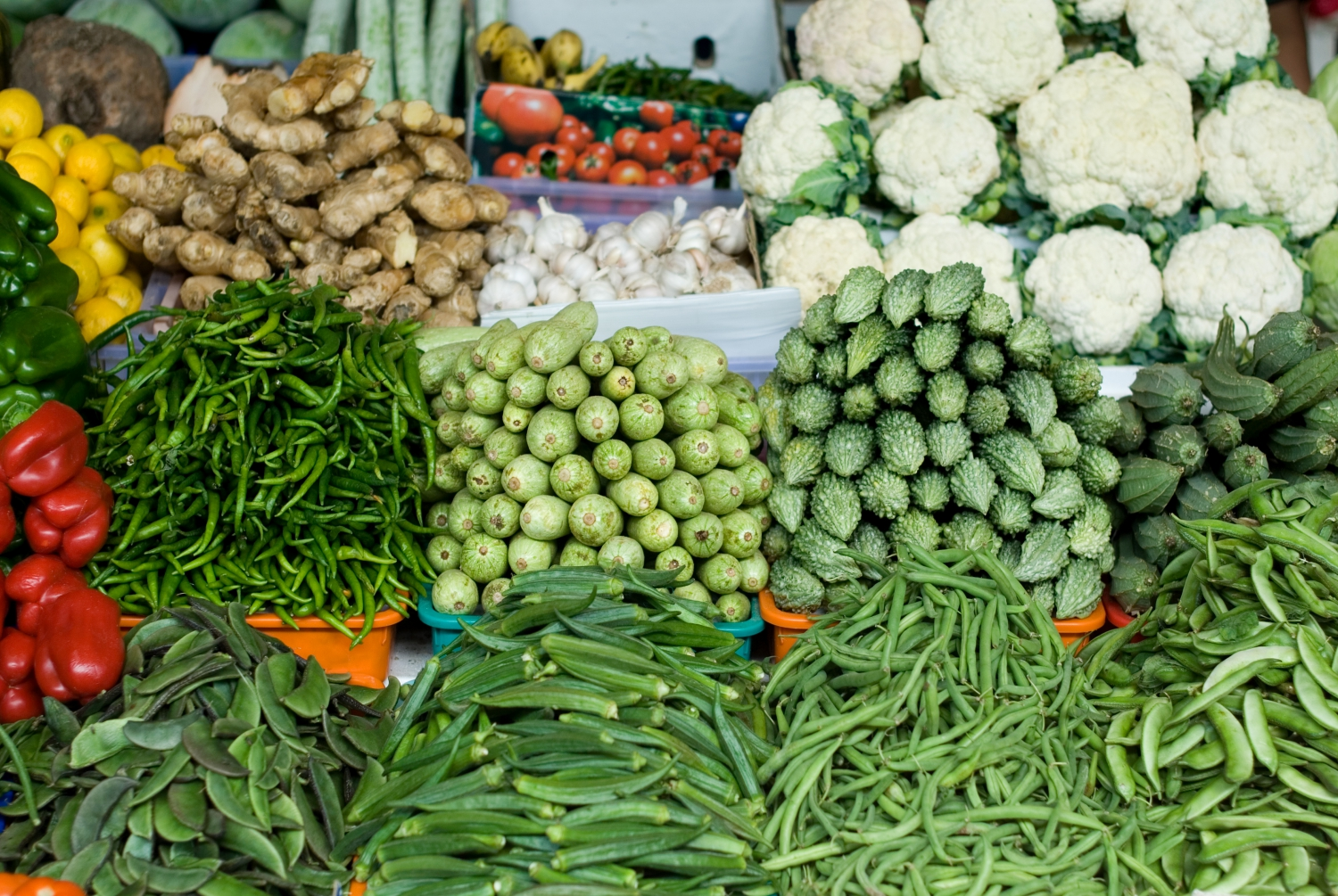 Dubai's Fruit & Vegetable Market