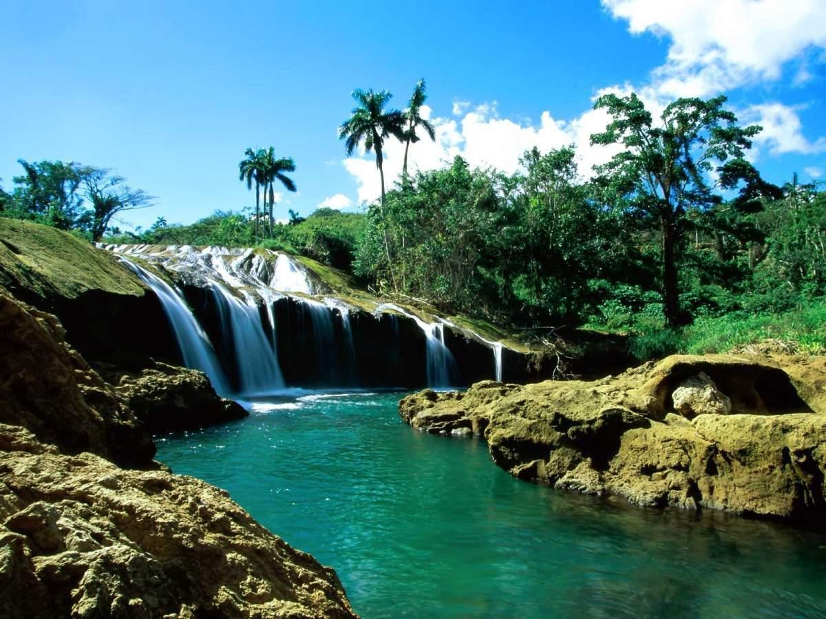 El Nicho, one of the wonders of Cuba