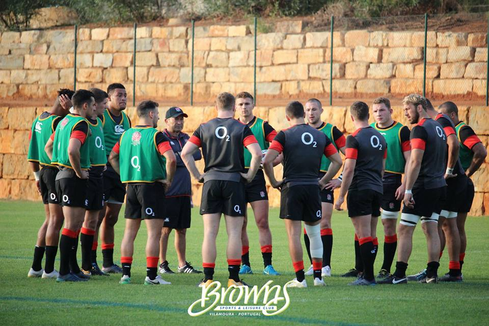 England Rugby team train at Browns Vilamoura | My Guide ...