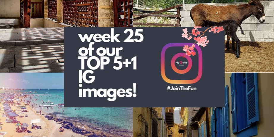 A historical twist to this week's Top5+1 Instagram images!     |     Week 25