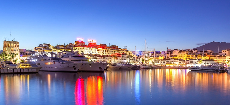 Find out all about Marbella's Ports