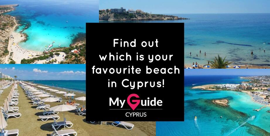 Find out which is your favourite beach in Cyprus!