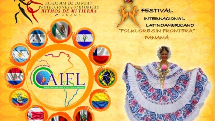 Folklore Without Borders, 1st Latin American International Festival