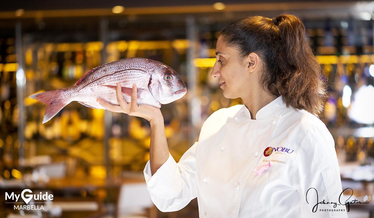 Interview with Executive Chef Eleni Manousou at Nobu Marbella