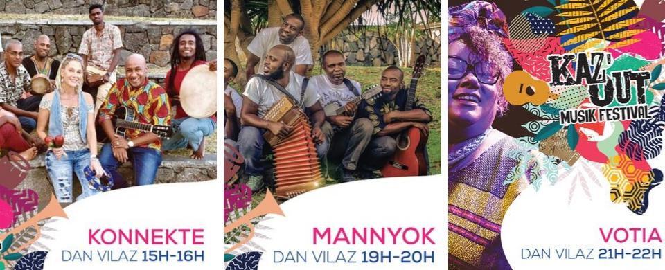 Kaz'Out Musik Festival 2019 Artists Line Up Dan Vilaz
