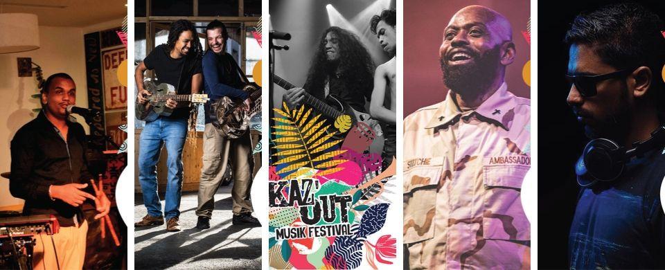 Kaz'Out Musik Festival 2019 Artists Line Up Kaz'Apero