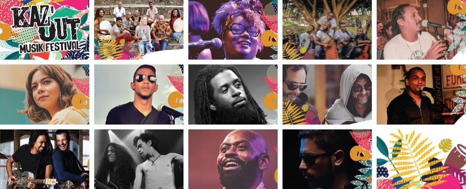 Kaz'Out Musik Festival 2019 Full Artists Line Up